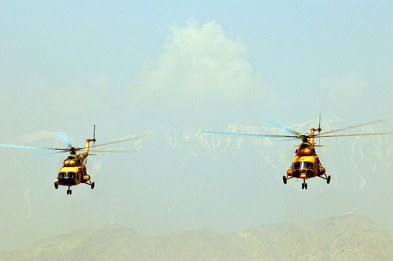 Afghan Air Force Pilot Recalls Combat