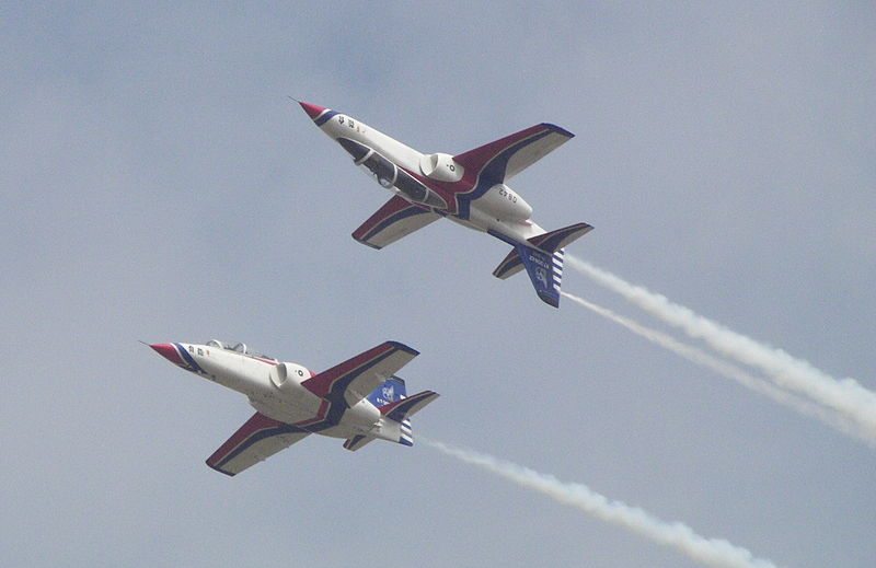 Taiwan Aerobatics Team Turns 60