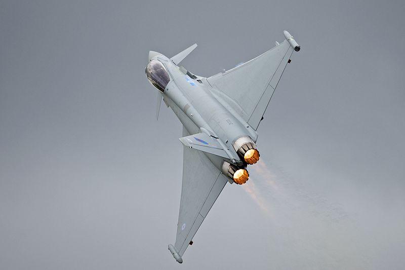 RAF Sends Typhoons to Med Bases