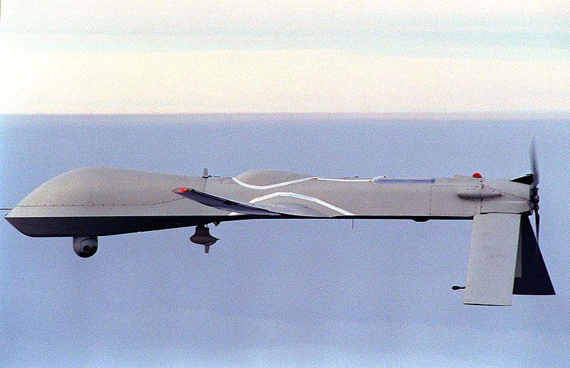 Predator Drone Helps Fight Rim Fire