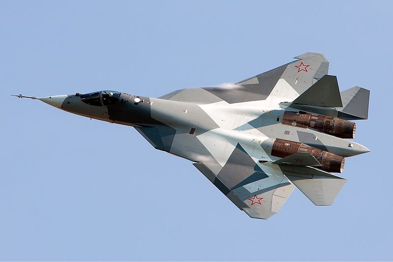 Sukhoi Fighters to Put on Show at MAKS