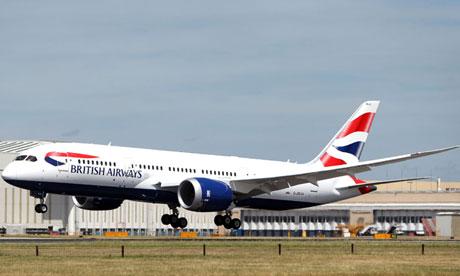 British Airways Makes Special First 787 Flight