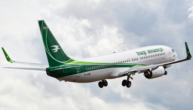 Iraqi Airways Receives its First 737-800