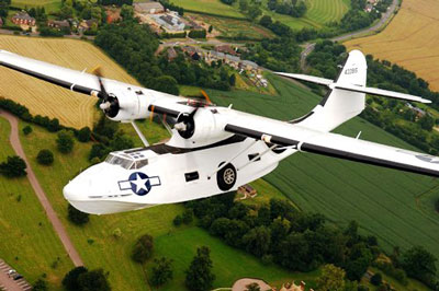 Catalina Takes to London Skies