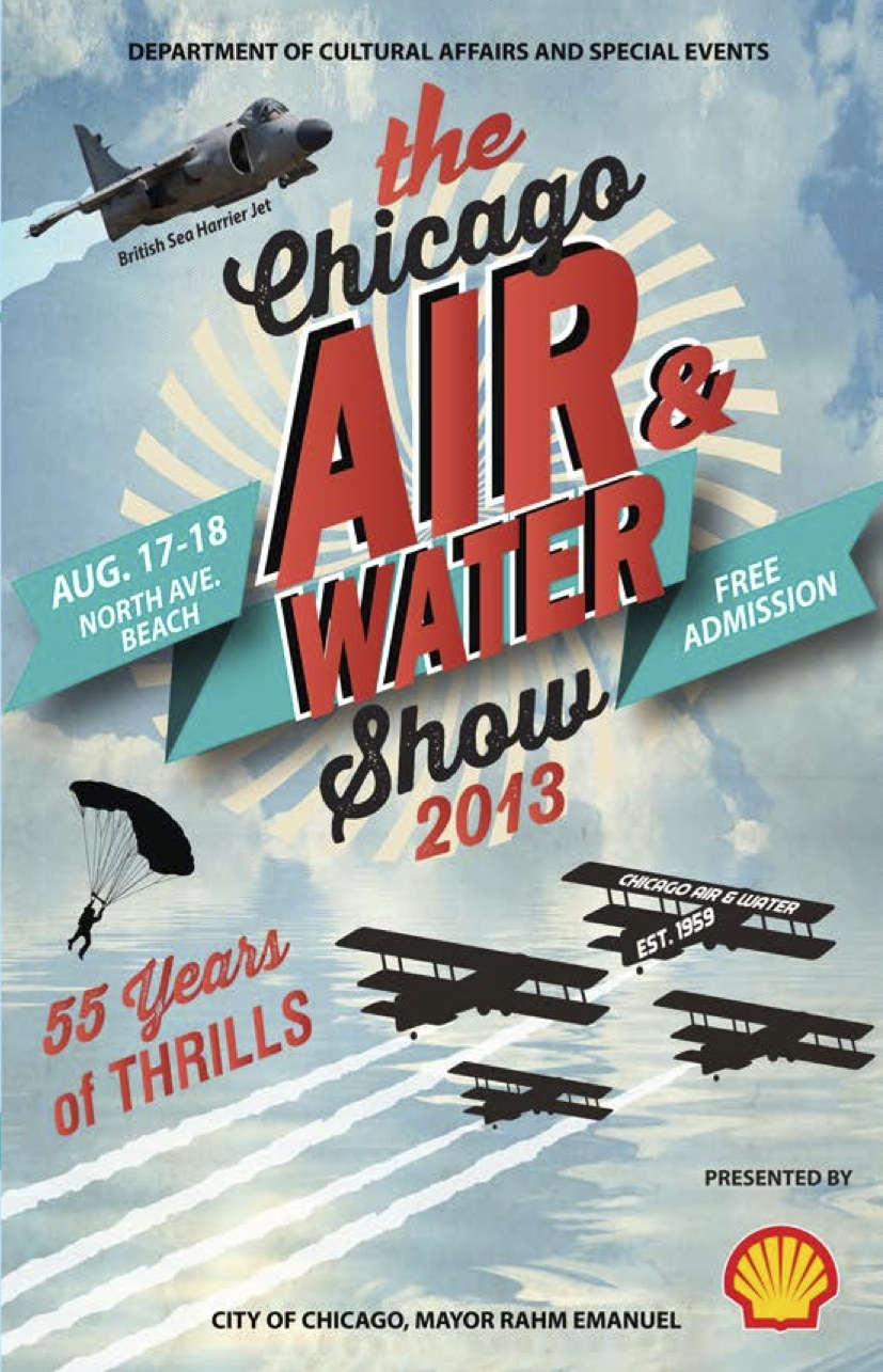 Chicago Air Show Fills Military Void