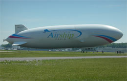 Zeppelin Takes to Paris Skies