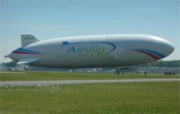 Zeppelin Takes to Paris Skies