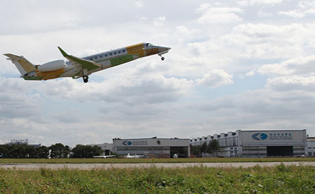 First Chinese-Built Legacy 650 Flies