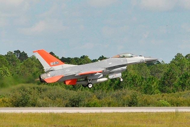 QF-16 First Flight Begs Pilot Question