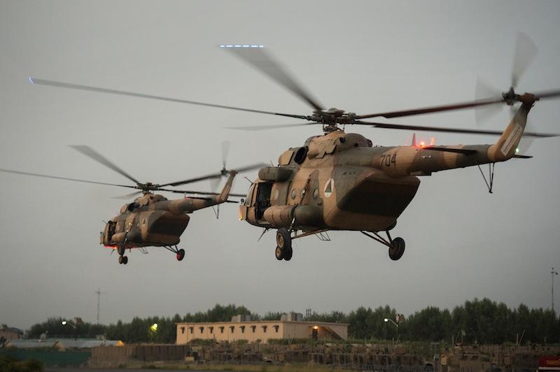 USAF Still Building Afghan Air Force