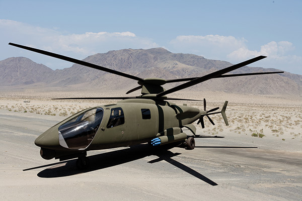 Sikorsky to Begin Assembly of S-97 Prototype