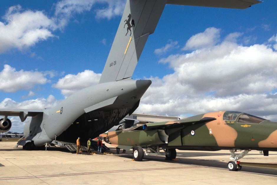 Last RAAF Aardvark Heads to Hawaii