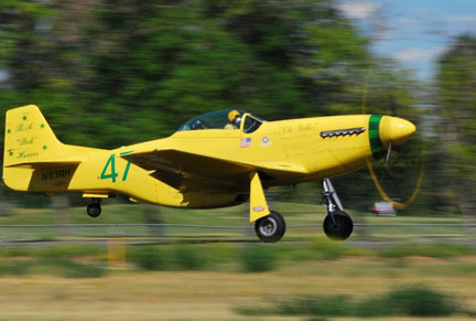 Pilot to Retire at Reno Flying 'Ole Yeller'