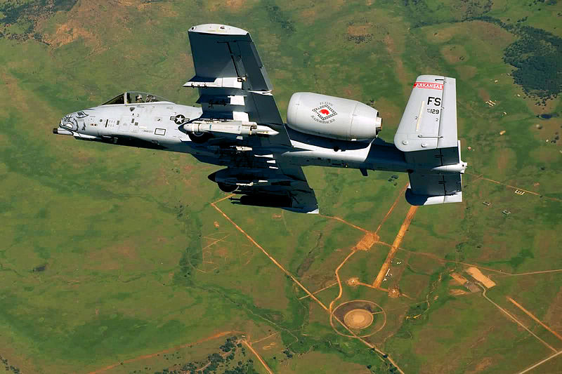 Arkansas Fighter Wing Shedding A-10s