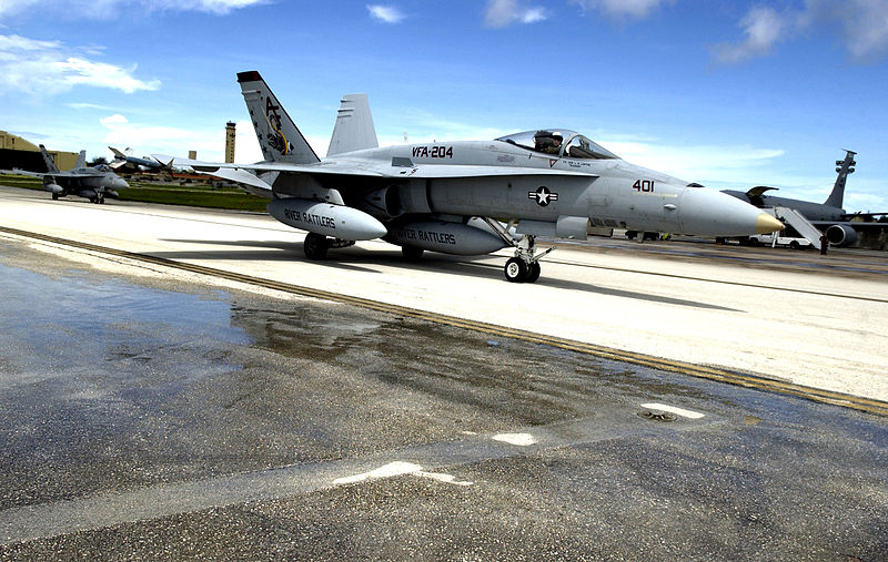 Louisiana's Navy Hornets Squadron Hangs On