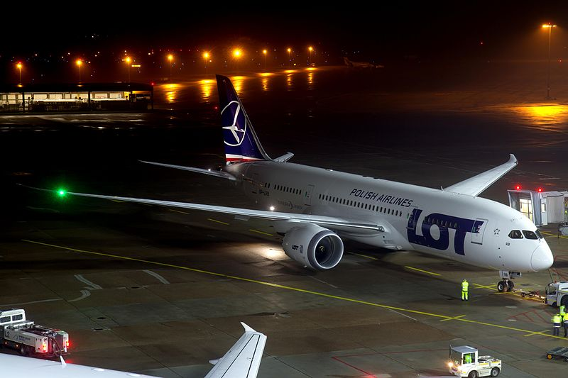 LOT 787 Latest Dreamliner with Problems