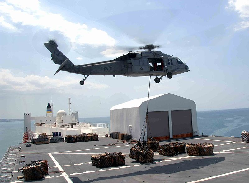 U.S. Navy Seahawk Crashes, Two Missing