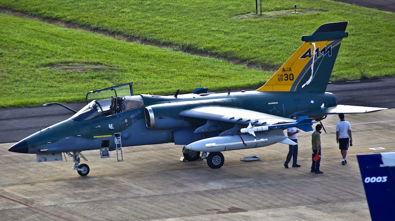 Brazil Receives Updated AMX Fighter