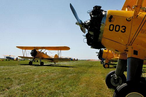 National Stearman Fly-In Underway in Iowa