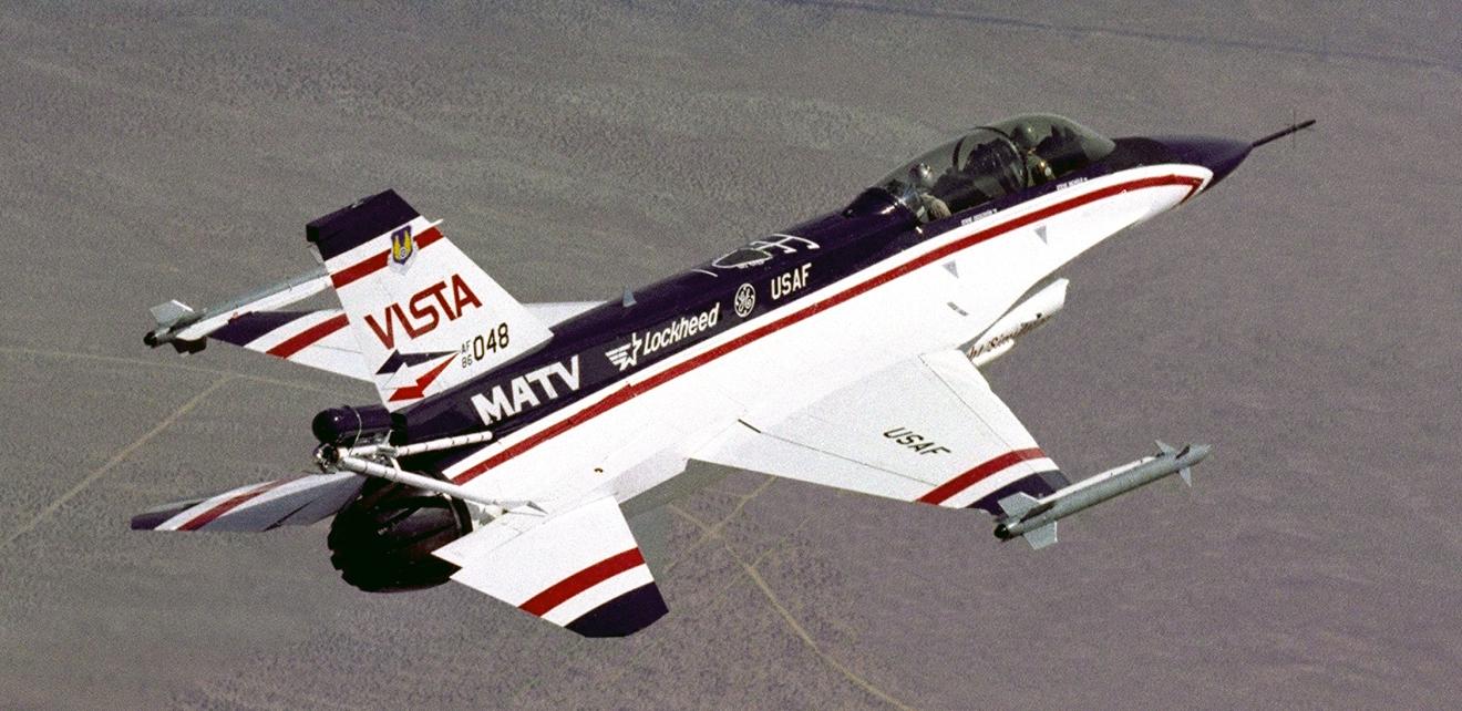 A Look Back: the F-16 VISTA