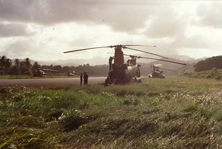 Marine Pilot Recalls Grenada Invasion