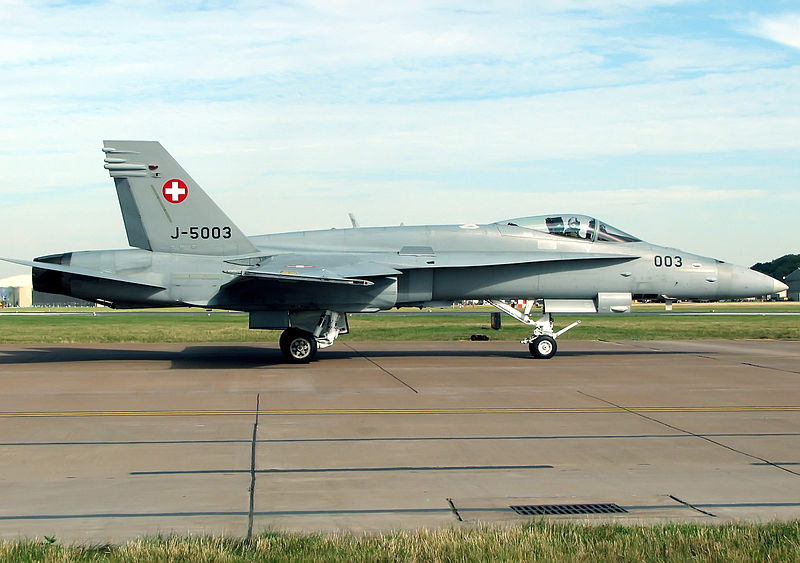 Swiss F/A-18 Crashes, Crew Killed