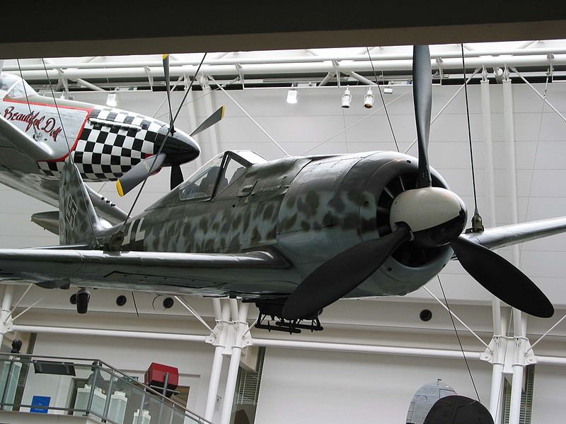 IWM's Fw 190 Now at Cosford