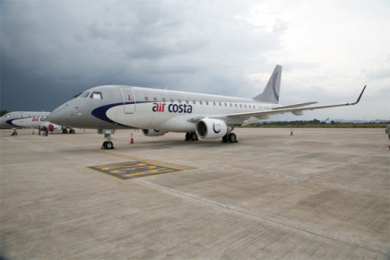 First Indian Regional Takes Off