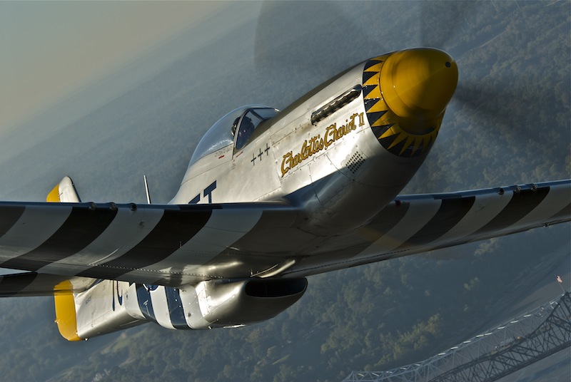 P-51 Doing Its Part to Help Vets