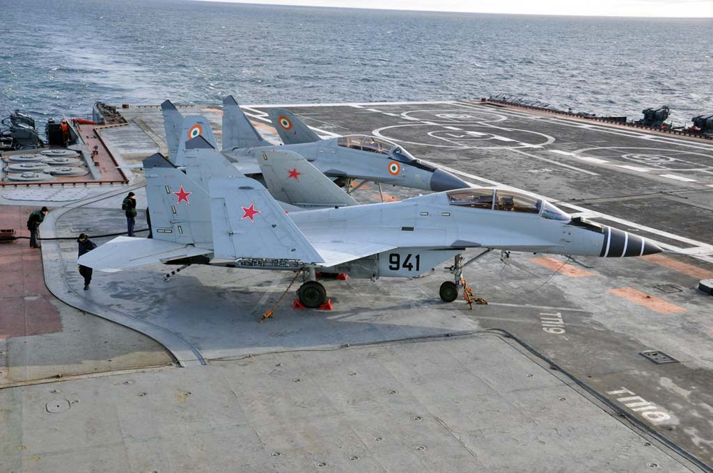 Sea MiGs: Indian and Russian Naval Aviation