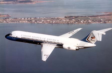 Presidential VC-9C Makes Last Flight