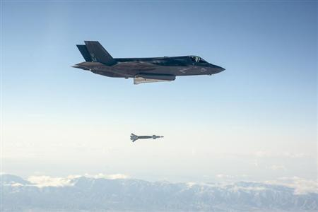 F-35 Drops First Laser Weapon in Test