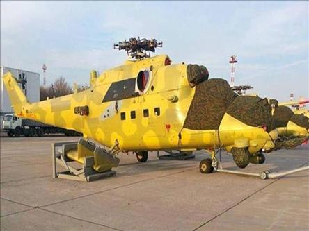 Iraq Takes Delivery of Mi-35 Gunships