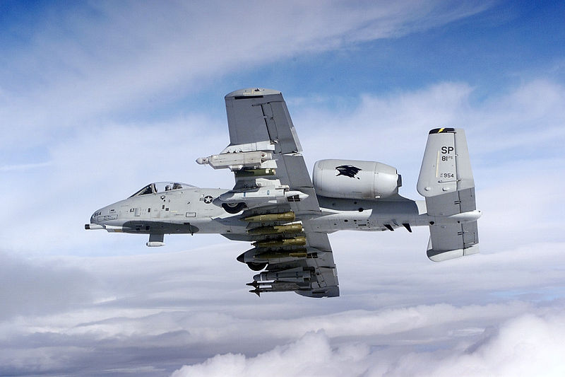 A-10 May Be Slated for Chopping Block