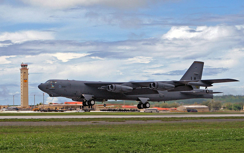 B-52s Fly Through China Defense Zone