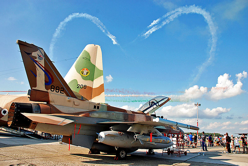 Israel Kicks Off Air Force Manuvers