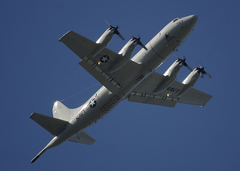 Navy P-3s Help Philippines Relief Efforts