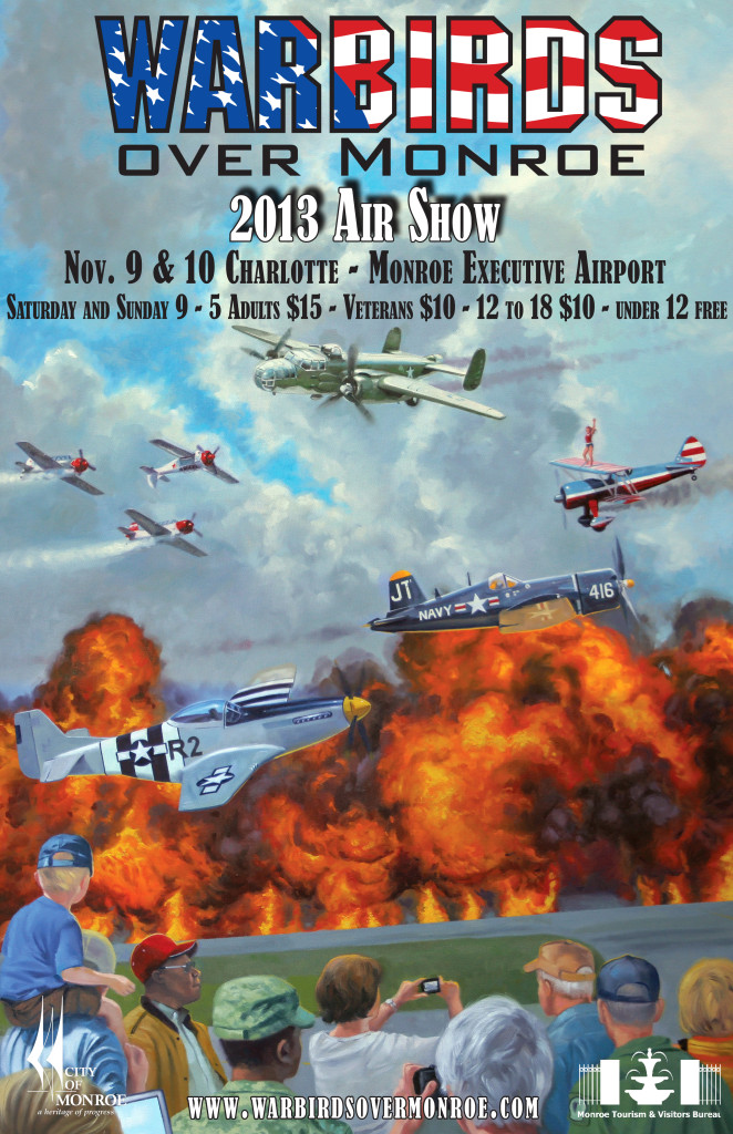 Warbirds, Aerobatics Headline NC Show