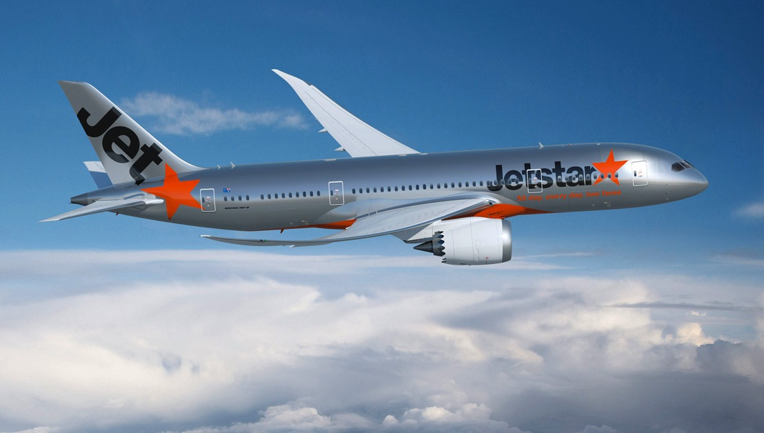 Jetstar Flies First 787 Low-Cost Route