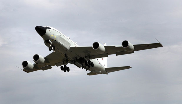 U.K. Accepts Its First RC-135 Rivet Joint