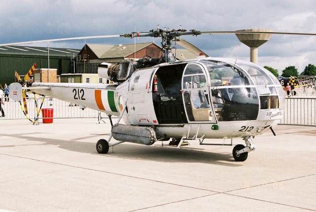 Irish Helicopter Unit Turns 50