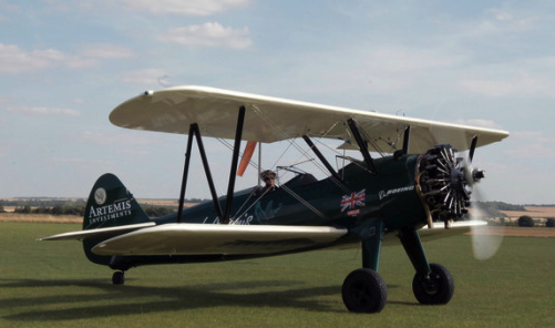 UK Pilot Starts 7,000-Mile Trip in Stearman