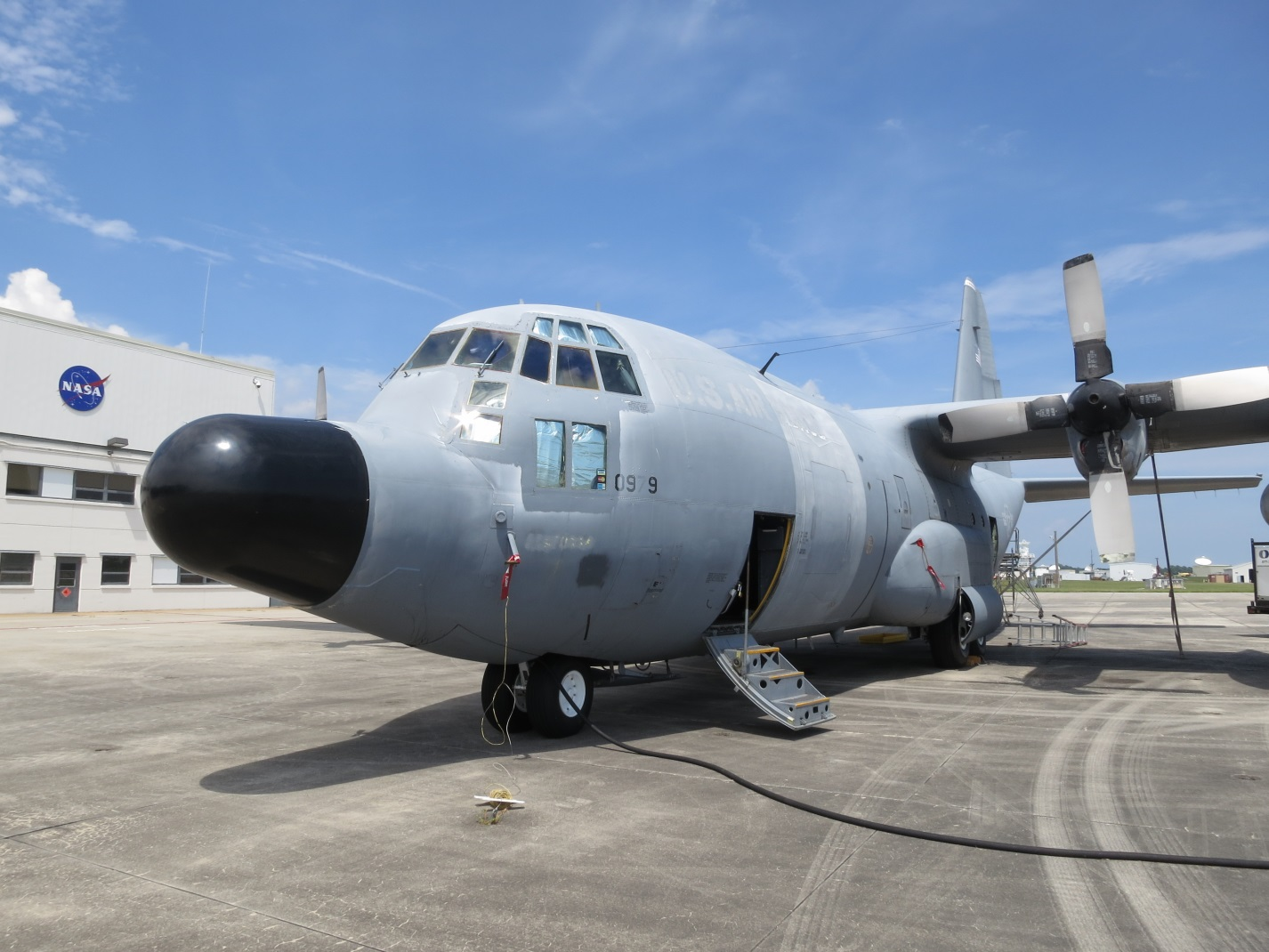 NASA C-130, Global Hawk Take on Ice