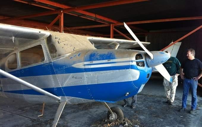 Woman Donates 'Forgotten' Cessna