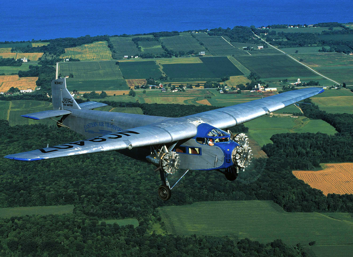 EAA Tri-Motor Makes Last Stop for 2013