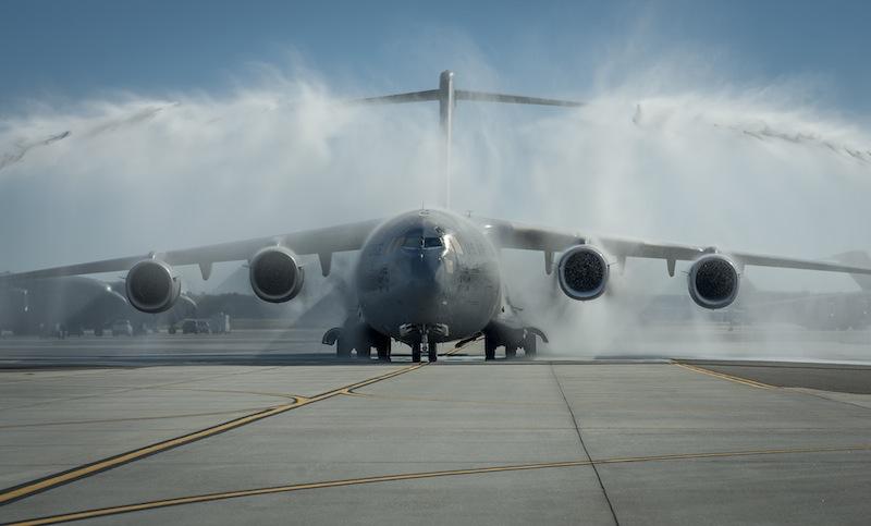 USAF C-17 Reaches Flying Milestone