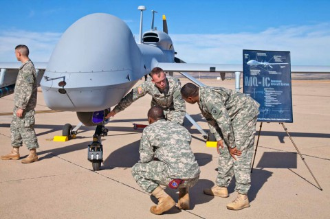 Special Ops Unit Gets Gray Eagle UAV