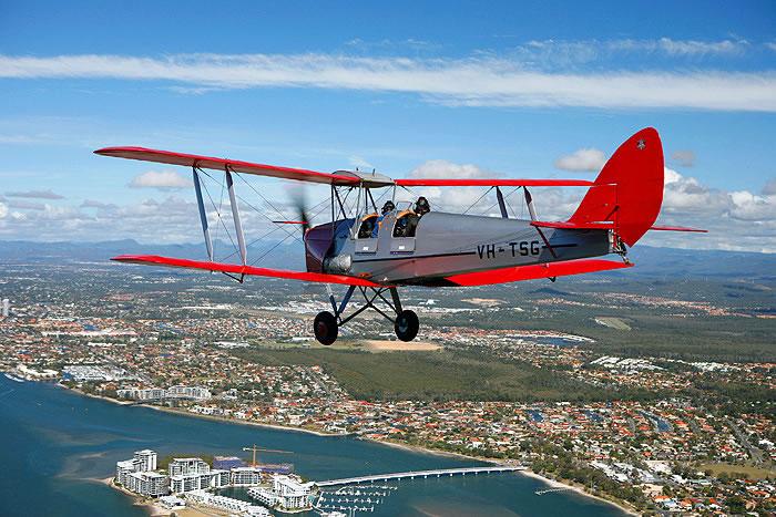 Aussie Tiger Moth Feared Lost