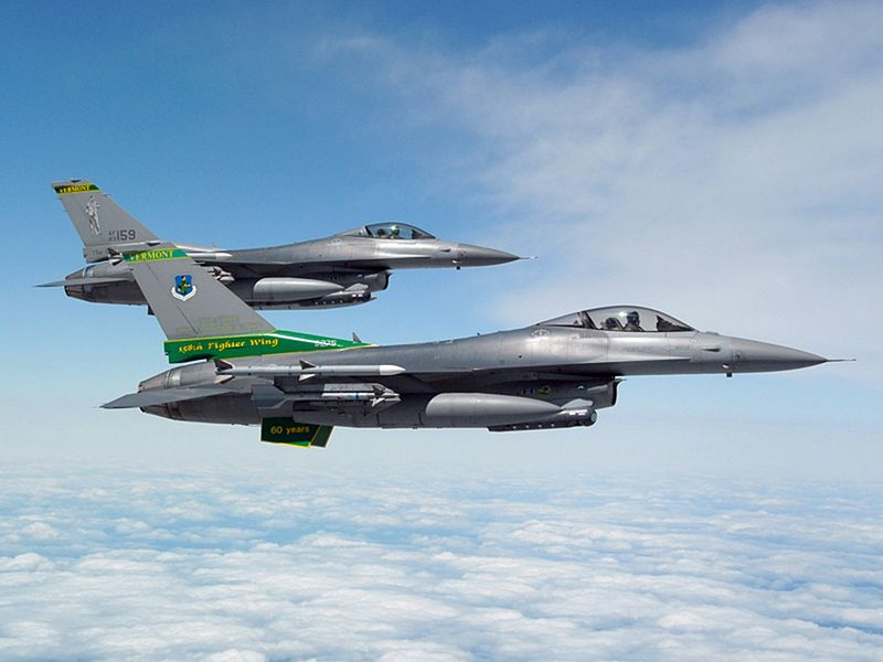 Valiant Air Command to Get F-16