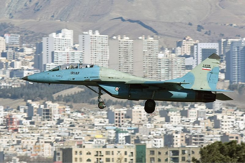 Iranian Air Force Begins Exercises